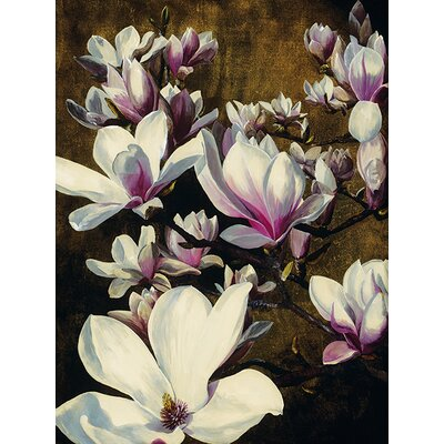 Art Group Magnolia Silk by Sarah Caswell Canvas Wall Art