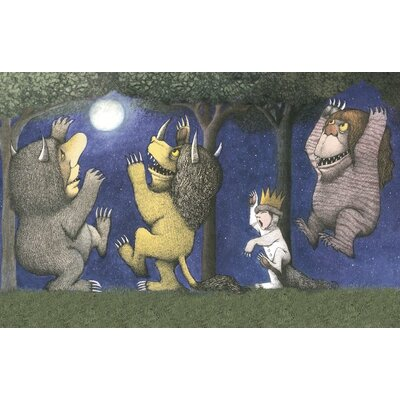 Art Group Let the Wild Rumpus Start I by Maurice Sendak Vintage Advertisement Canvas Wall Art