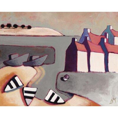 Art Group Harbour Inlet by Derek Melville Art Print on Canvas