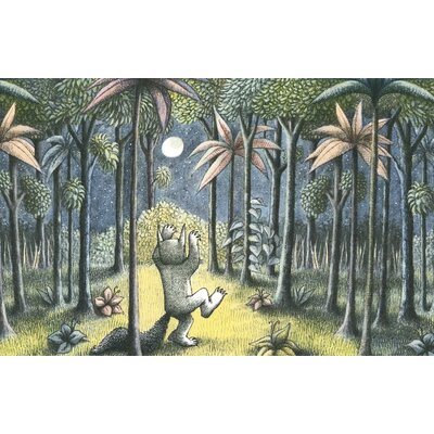 Art Group To the Land of the Wild Things by Maurice Sendak Vintage Advertisement Canvas Wall Art