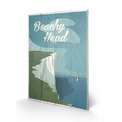 Art Group Beachy Head by Adam McNaught Davis Vintage Advertisement Plaque