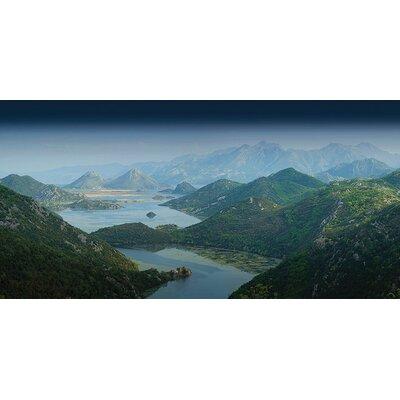 Art Group Lake Skadar, Montenegro by Rod Edwards Canvas Wall Art