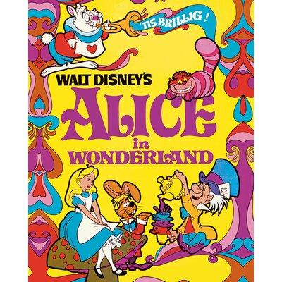 Art Group Alice In Wonderland 1974 Vintage Advertisement Canvas Wall Art