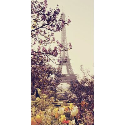 Art Group Springtime in Paris by Liz Rusby Photographic Print on Canvas
