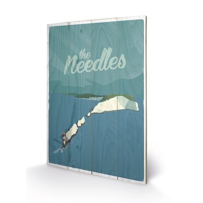 Art Group The Needles by Adam McNaught Davis Vintage Advertisement Plaque