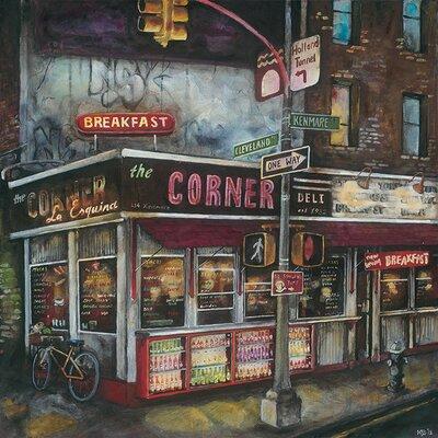Art Group La Esquina, New York by Melissa Sturgeon Art Print on Canvas