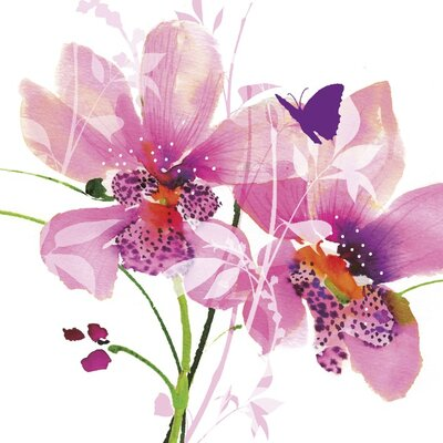 Art Group Orchid Blush by Summer Thornton Canvas Wall Art