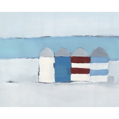 Art Group Red, White and Blue by Heidi Langridge Art Print on Canvas