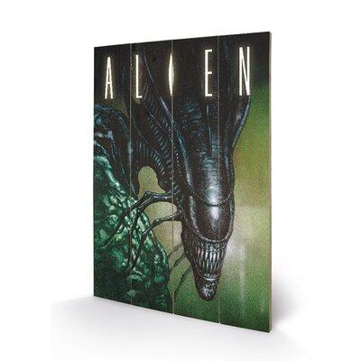 Art Group Creep by Alien Vintage Advertisement Plaque