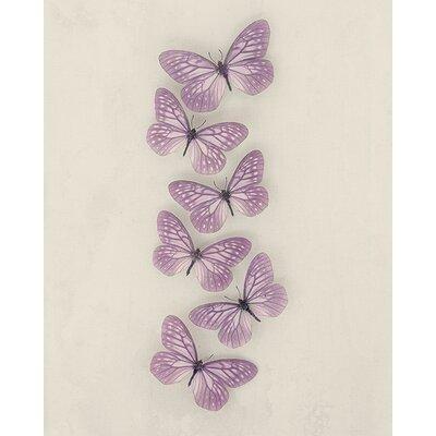 Art Group Butterflies by Ian Winstanley Canvas Wall Art