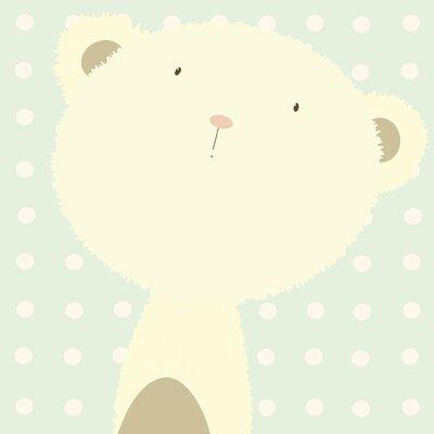 Art Group Baby Boo Bear by Nicola Evans Canvas Wall Art