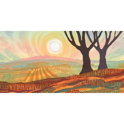 Art Group Scorched Earth by Rebecca Vincent Canvas Wall Art