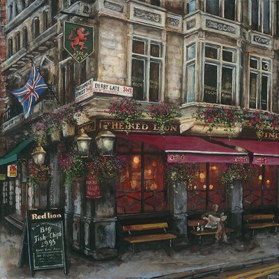 Art Group The Lion, Westminster by Melissa Sturgeon Canvas Wall Art