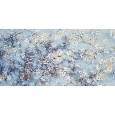 Art Group Oriental Blossom by Nicola Acaster Canvas Wall Art