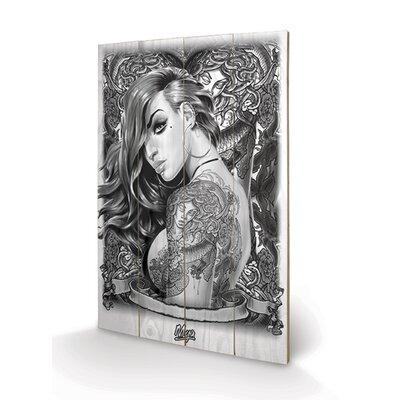 Art Group Mya, Tattoo Graphic Art Plaque