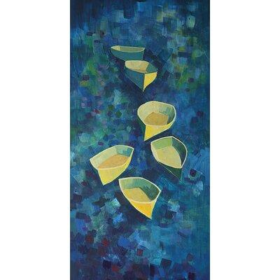 Art Group Flotilla by Hugh Cushing Canvas Wall Art