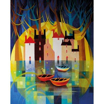 Art Group Sunriset by Sunita Khedekar Graphic Art on Canvas