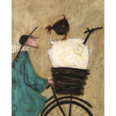 Art Group Taking the Girls Home by Sam Toft Canvas Wall Art