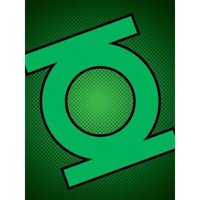 Art Group DC Comics Lantern Symbol Graphic Art on Canvas