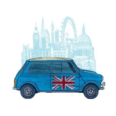Art Group Mini London by Barry Goodman Canvas Wall Art