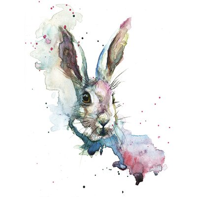 Art Group March Hare by Sarah Stokes Art Print on Canvas