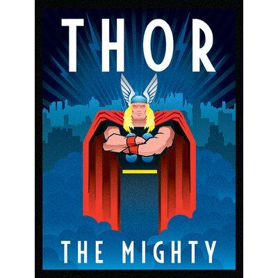 Art Group Marvel Deco, Thor Vintage Advertisement Canvas Wall Art