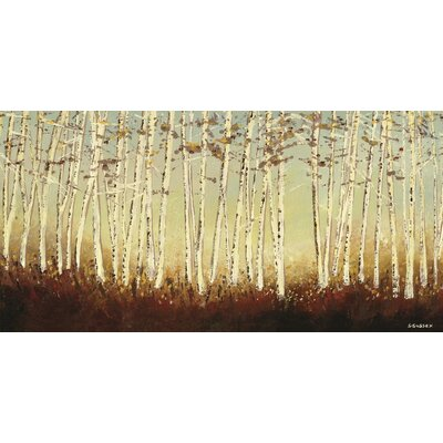 Art Group Birch Trees by Serena Sussex Canvas Wall Art
