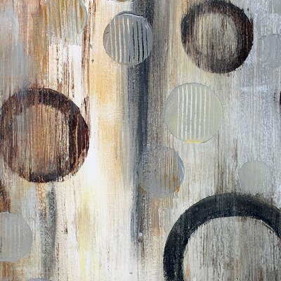 Art Group Abstraction II by Irena Orlov Art Print on Canvas