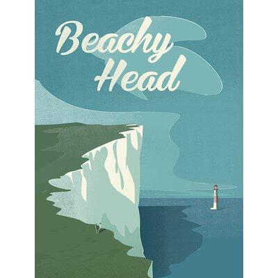Art Group Beachy Head by Adam Mc Naught Davis Vintage Advertisement Canvas Wall Art