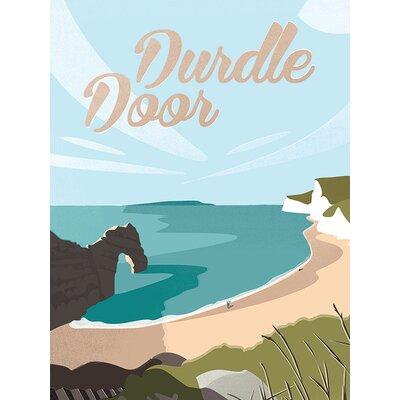 Art Group Durdle Door by Adam Mc Naught Davis Vintage Advertisement Canvas Wall Art