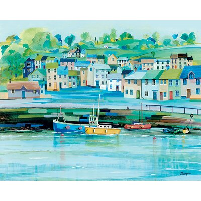 Art Group Harbour Colours by Jeremy Thompson Canvas Wall Art