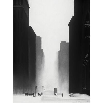 Art Group The Big City by David Cowden Canvas Wall Art