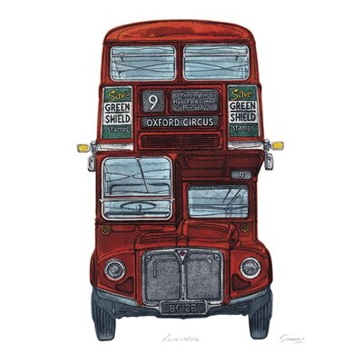 Art Group Routemaster by Barry Goodman Canvas Wall Art