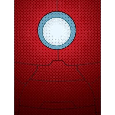 Art Group Avengers Assemble, Iron Man Torso Canvas Wall Art