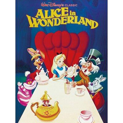 Art Group Alice In Wonderland 1989 Vintage Advertisement Canvas Wall Art