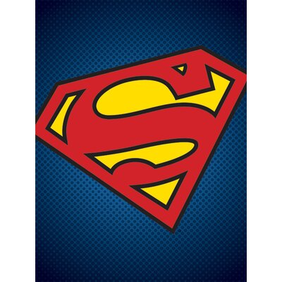 Art Group DC Comics Superman Symbol Graphic Art on Canvas