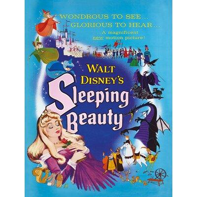 Art Group Sleeping Beauty Glorious Vintage Advertisement on Canvas