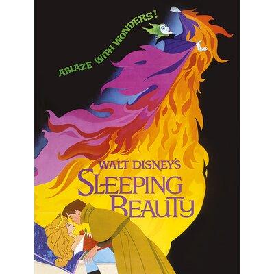 Art Group Sleeping Beauty Ablaze Vintage Advertisement Canvas Wall Art