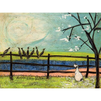 Art Group Doris and the Birdies by Sam Toft Canvas Wall Art