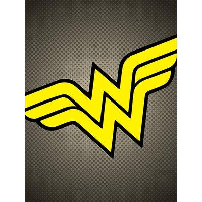 Art Group DC Comics Wonder Woman Symbol Canvas Wall Art
