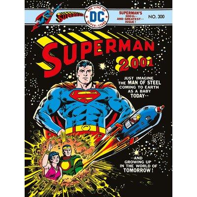 Art Group Superman 2001 Vintage Advertisement Canvas Wall Art