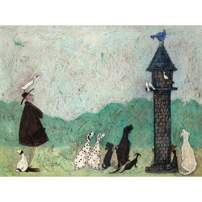 Art Group An Audience with Sweetheart by Sam Toft Canvas Wall Art