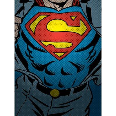 Art Group DC Comics Superman Torso Canvas Wall Art