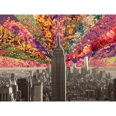 Art Group Flowers of New York by Bianca Green Canvas Wall Art