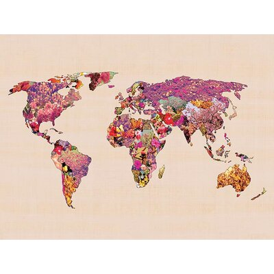 Art Group Our Wonderful World by Bianca Canvas Wall Art