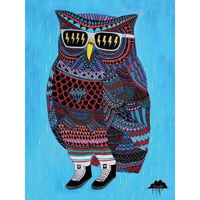Art Group Mulga, Otis the Owl Canvas Wall Art