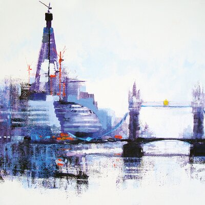 Art Group Shard Left by Colin Ruffell Art Print on Canvas