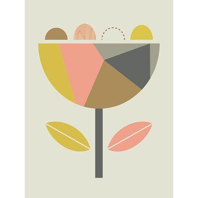 Art Group Scandi Flower by Little Design Haus Graphic Art on Canvas