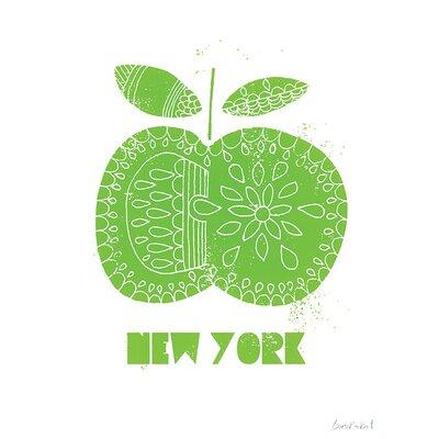 Art Group NY Apple, Biro Robot Canvas Wall Art