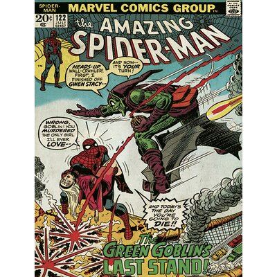 Art Group Spider-Man Green Goblin Canvas Wall Art